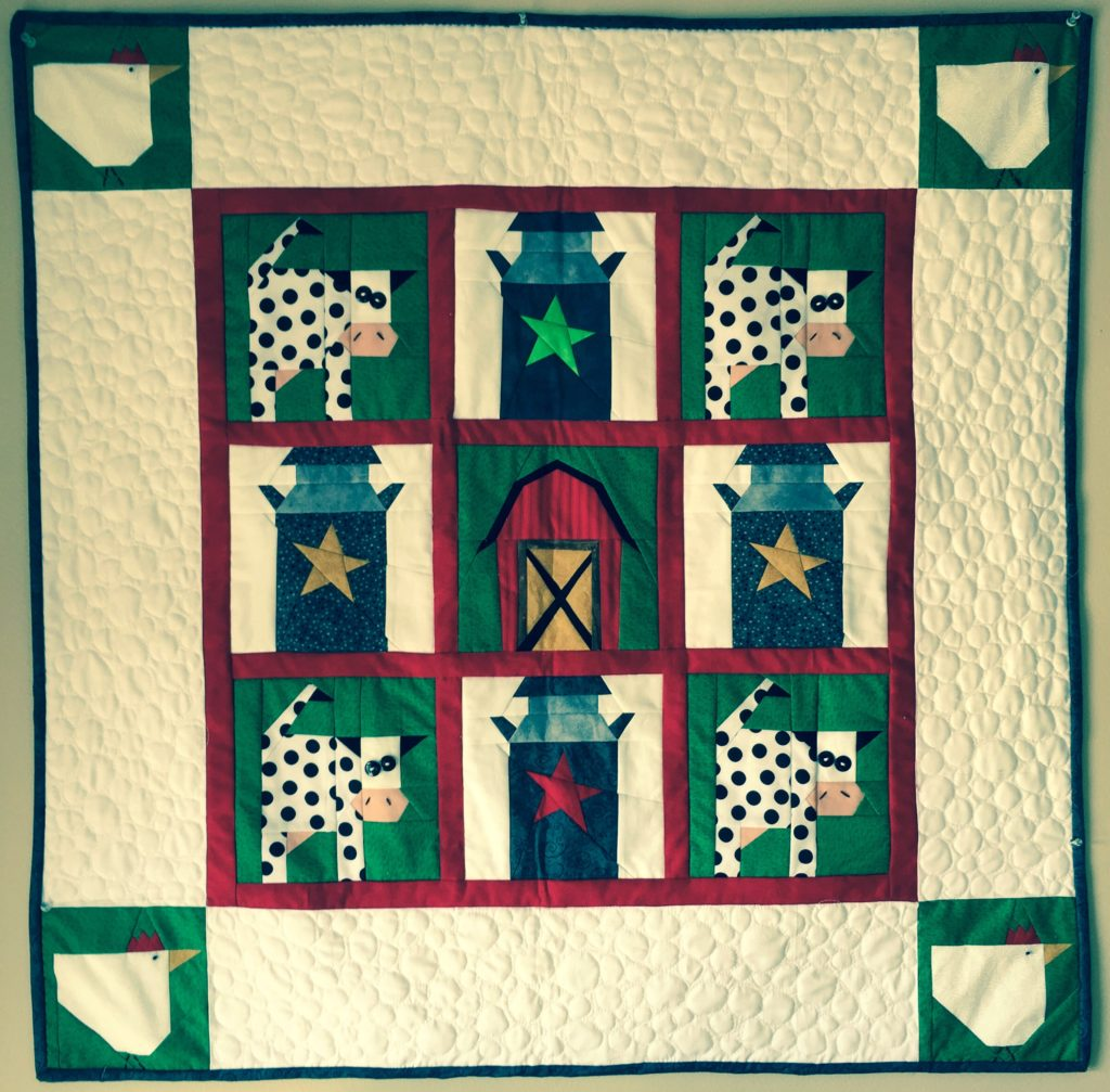 Luv My Paper Pieced Quot Cow Abunga Quot Quilt Made By Marney