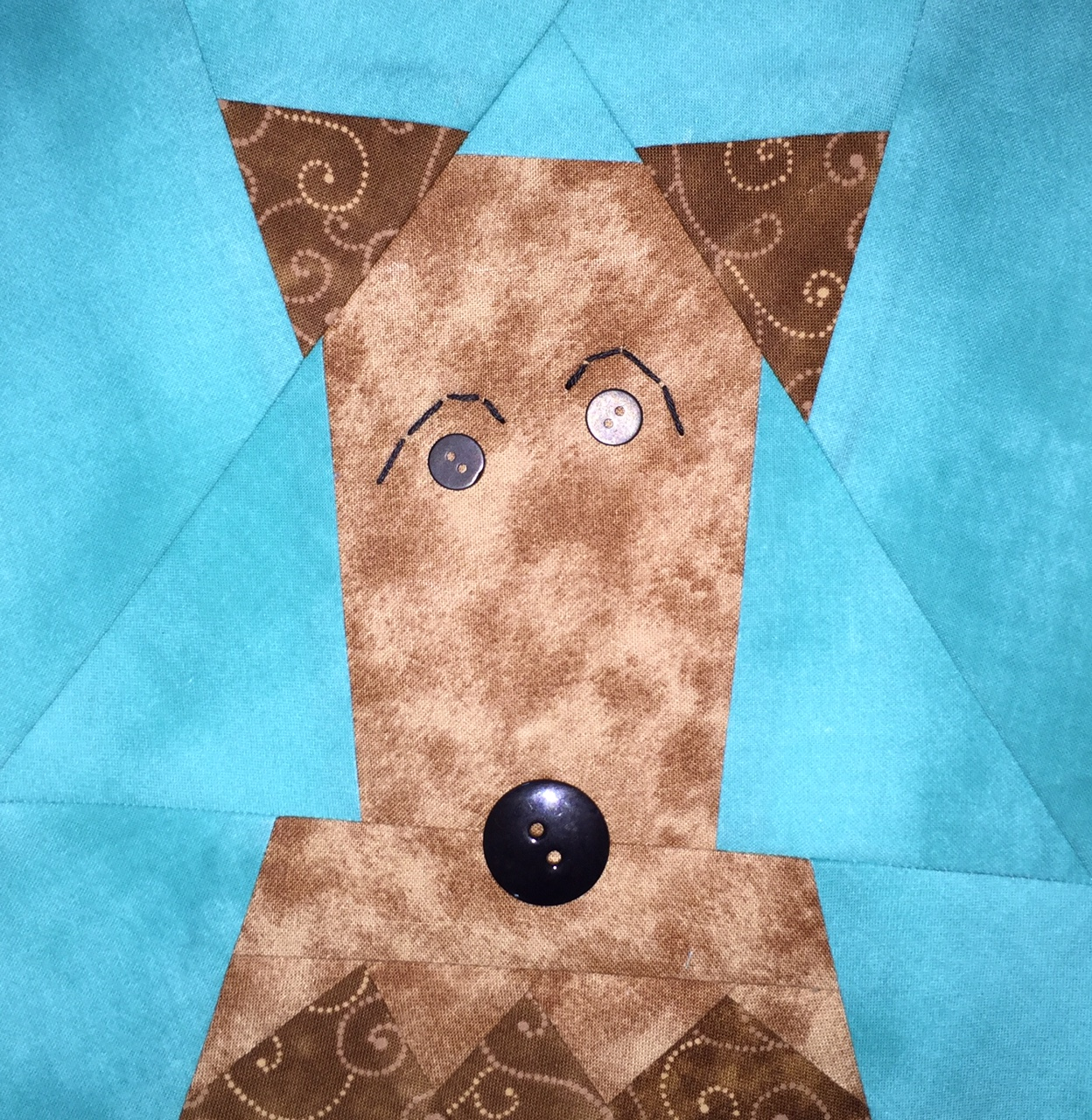 """Dogs Only"" Paper Pieced Quilt Pattern from Made By Marney ..."
